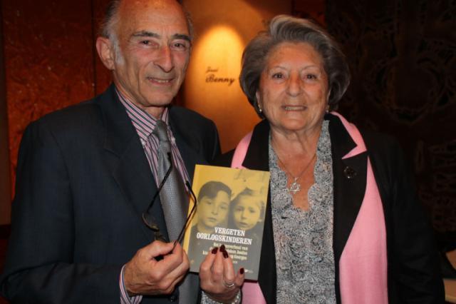 Wijlen Georges en Regina Suchowolski-Sluszny bij de voorstelling van Vergeten Oorlogskinderen in oktober 2016  © John Moussiaux
