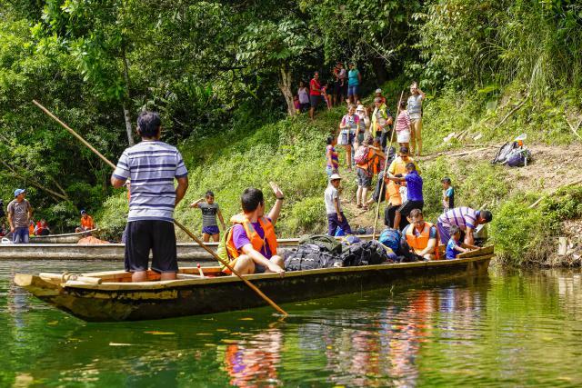 Inleefreis aan het Lago Alajuela in Panama  © Koen Van Den Bossche