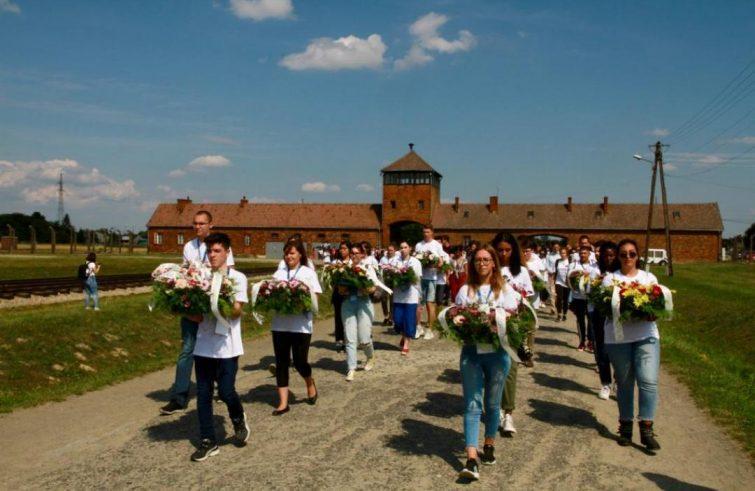 Herdenking van Youth for Peace van de slachtoffers van de Holocaust © Sant'Egidio