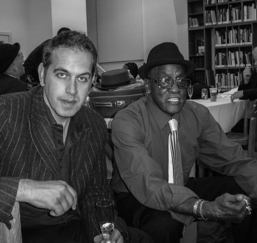 Yves Erauw en Billy Paul. © Yves Erauw