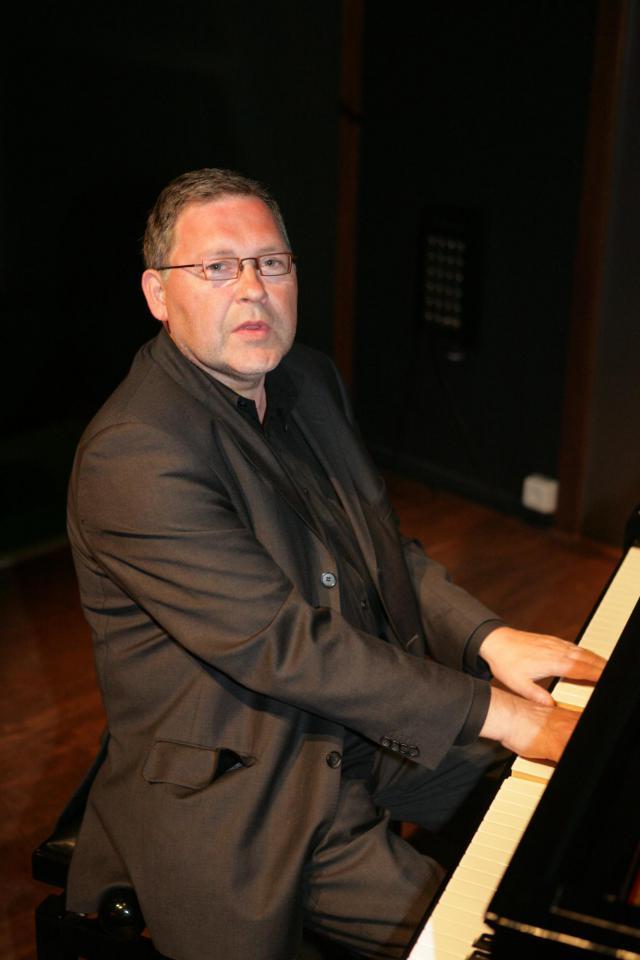 Paul Steegmans aan de piano. © Paul Steegmans