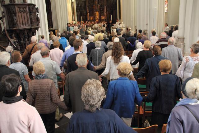 Stemmige dankviering in de Sint-Pancratiuskerk in Ranst © Bart Verhaegen