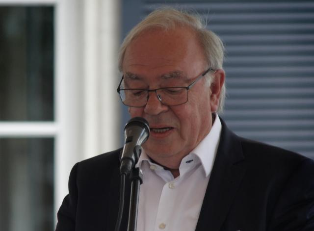 voorzitter Paul Breesch van de vzw Hof Zevenbergen © Bart Verhaegen
