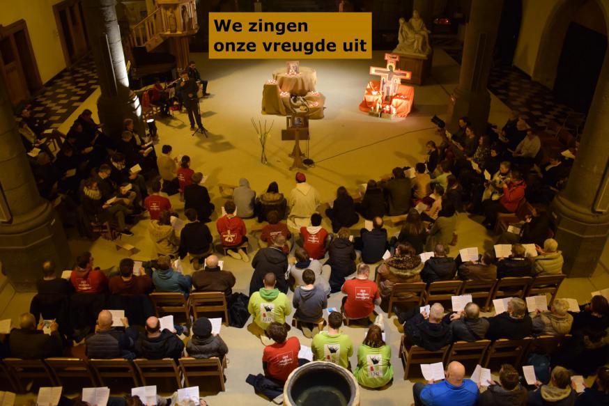 We zingen onze vreugde uit © Inge Cordemans