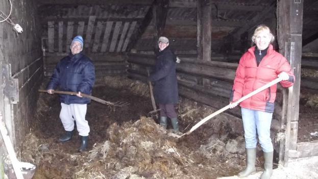 In zorgboerderij de Akkerboom werken we samen met de mensen van daar!