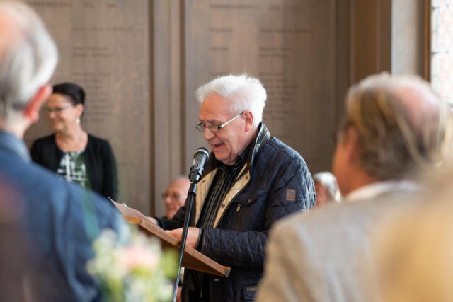 voorzitter van de kerkraad Remi Van den Saffele © Geert Maenhout