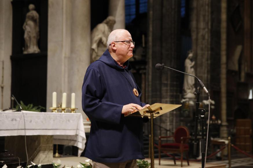 Bisschop Lode Van Hecke - slotavond SVG - 15.09.2020 © Bisdom Gent, foto: Kristof Ghyselinck