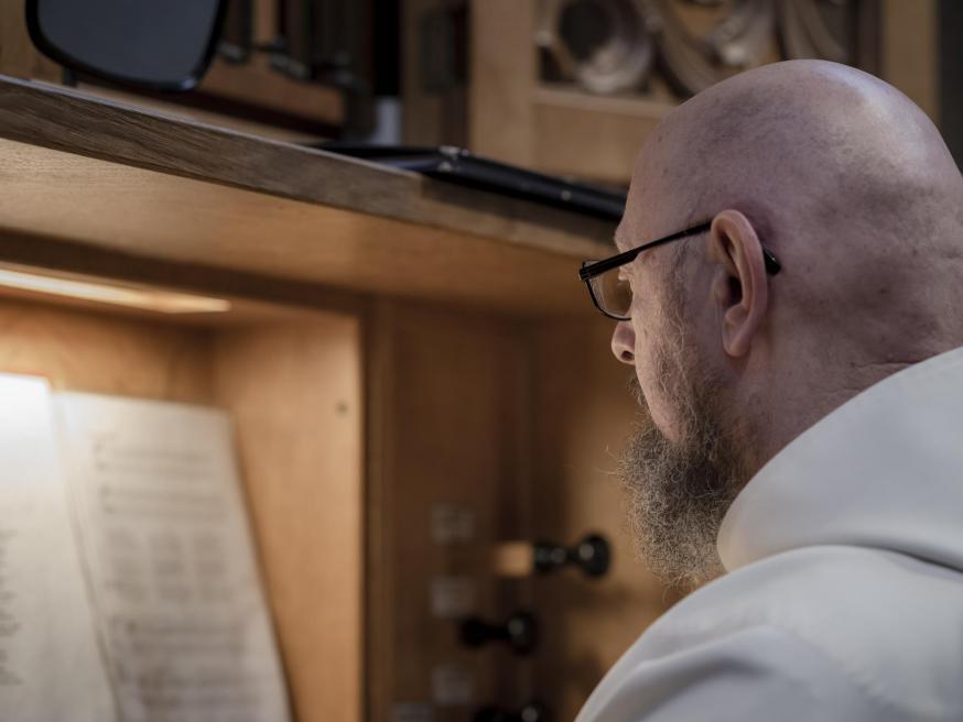 Abdij Westvleteren: God, red mij, ik verga © Leo De Bock
