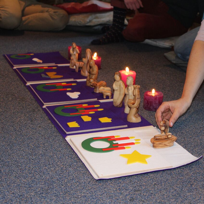 Godly Play advent © Lieve Wouters