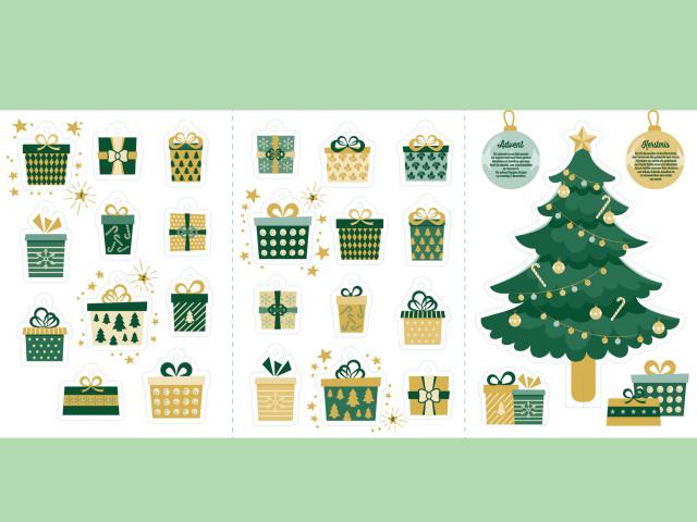 Op de achterkant van de cadeautjes staat een opdracht om een gebaar van liefde te stellen, een geschenk voor elke dag! © Nieuwe Families Focolare