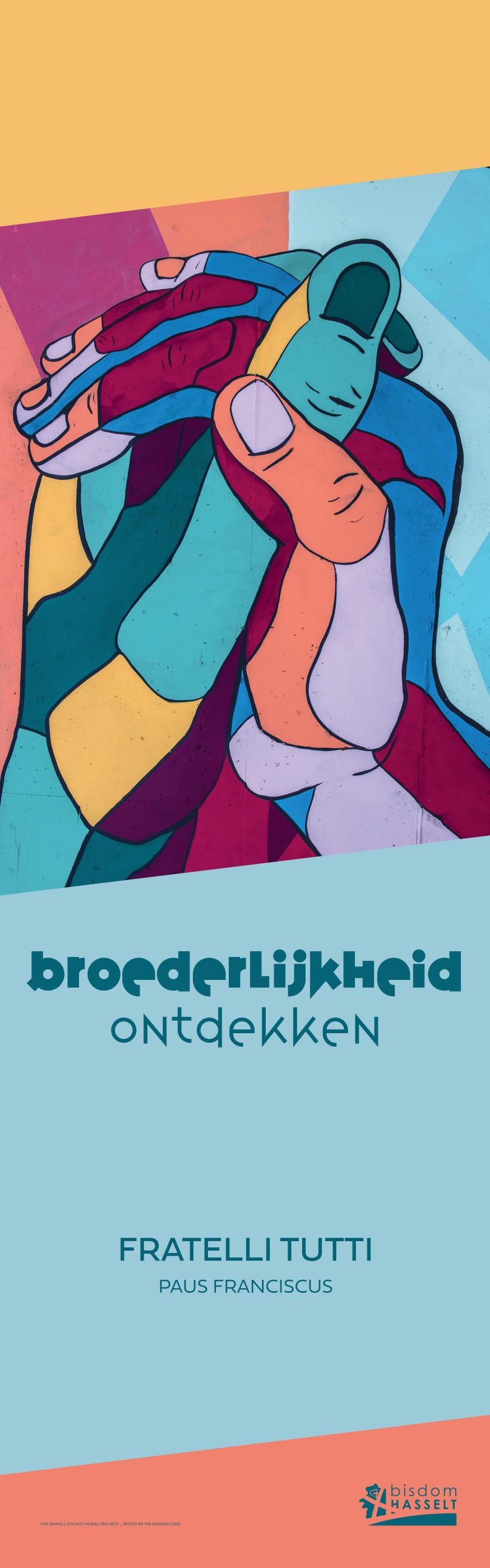 Affiche jaarthema © bisdom Hasselt
