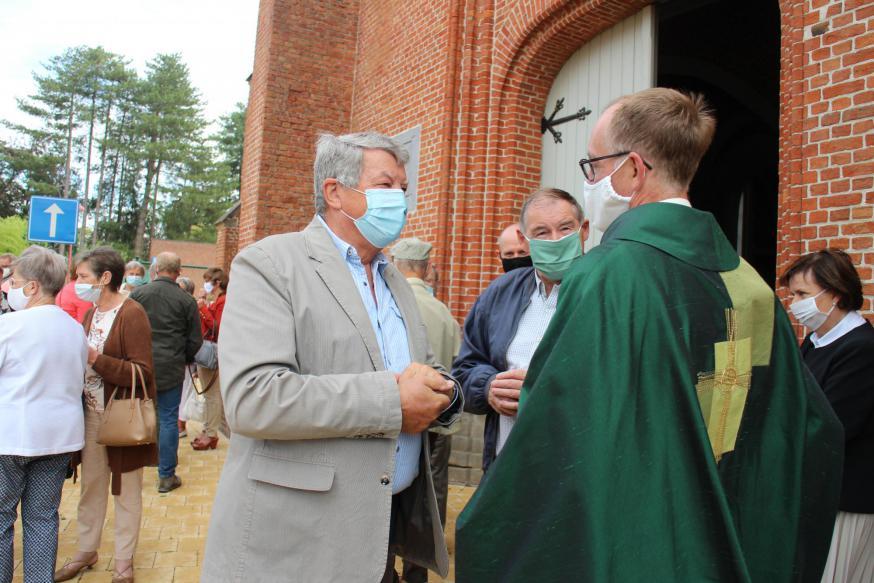Afscheid van priester Jan © RvH