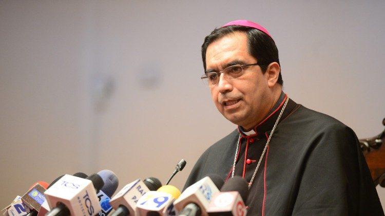 Aartsbisschop Jose Luis Escobar Alas © Vatican Media