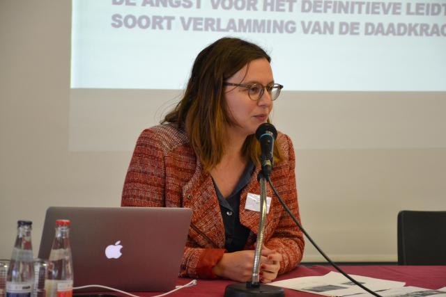 Anaïs Fayt, directeur van IJD - Jeugdpastoraal Vlaanderen © Jeroen Moens