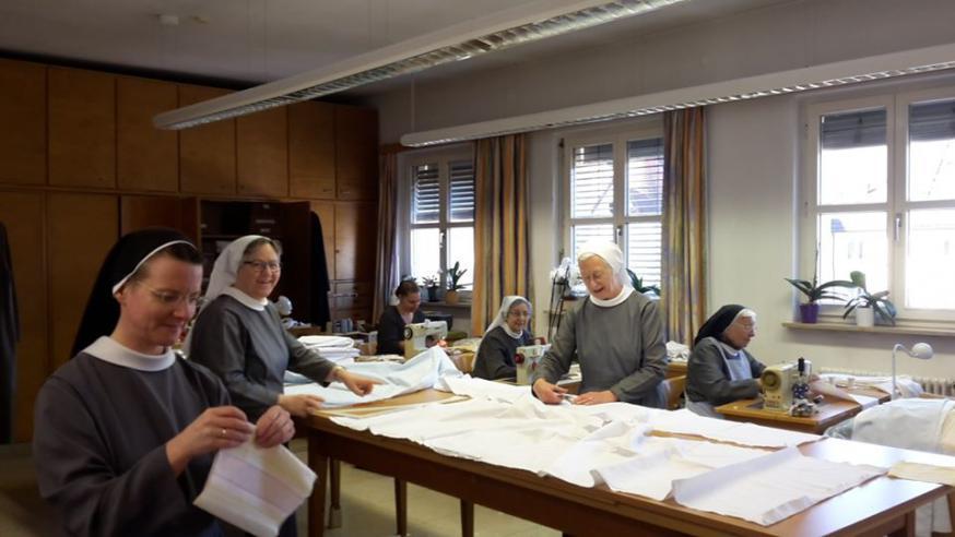 benedictinessen aan het werk © benedictinessen tutzing