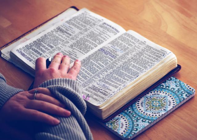 Bijbel, creatief, Bible Journaling