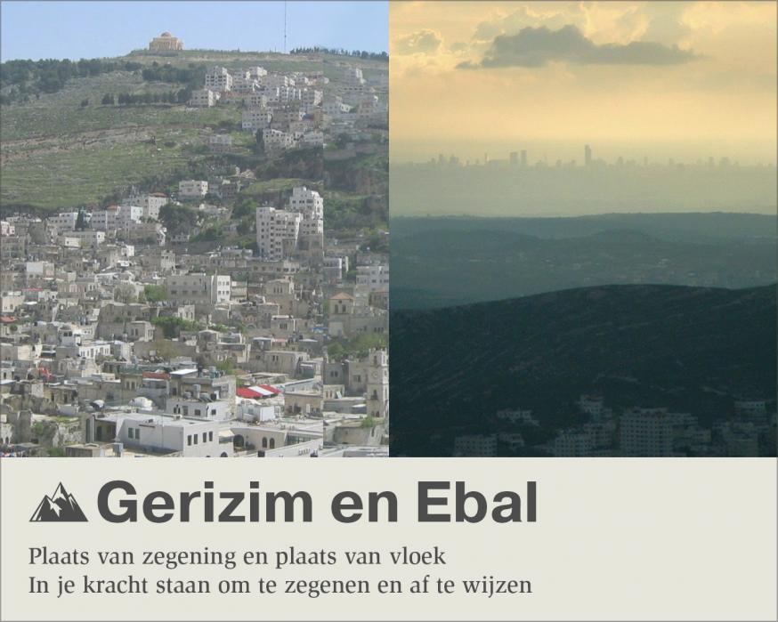 Gerizim en Ebal © Sim D'Hertefelt - Foto's CC Al Ameer son, Arieleizen