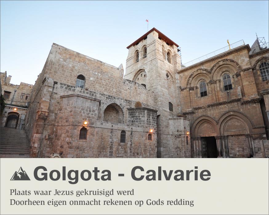 Golgota - Calvarie © Sim D'Hertefelt - Foto CC Jorge Láscar