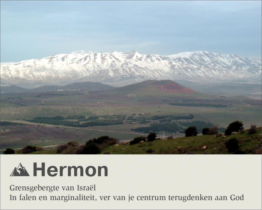 Hermon © Sim D'Hertefelt - Foto CC Almog