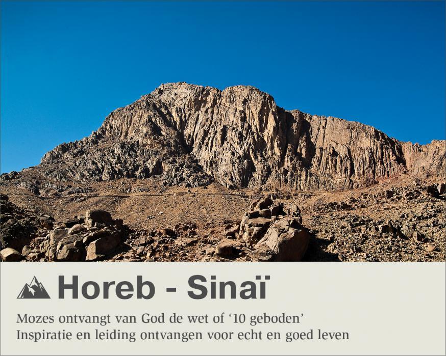 Horeb - Sinaï © Sim D'Hertefelt - Foto CC Studio31
