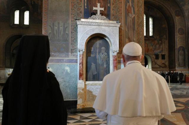 Othodoxe kathedraal van Sofia © Vatican Media