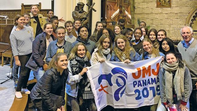 Jongeren voor Panama © Joeri Fleerackers