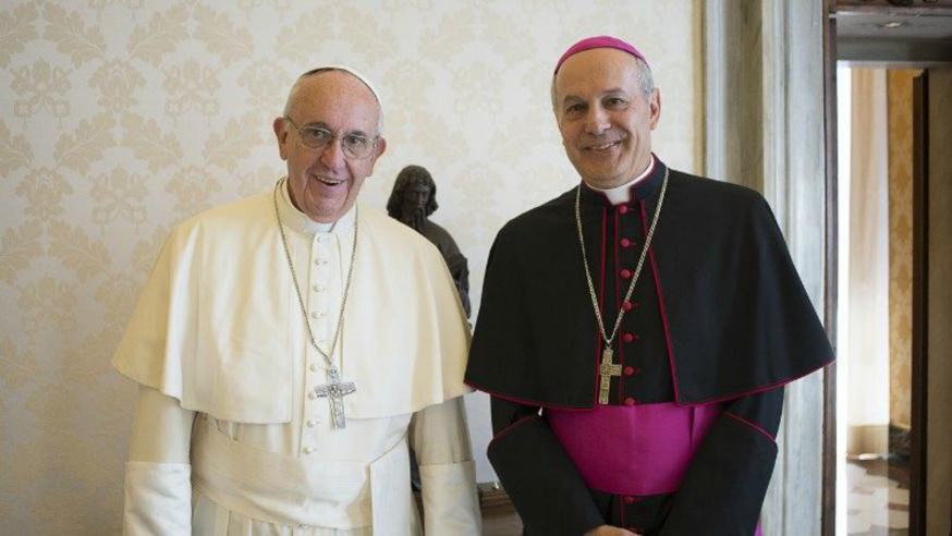 VN-waarnemer Gabriele Giordano Caccia  © Vatican Media