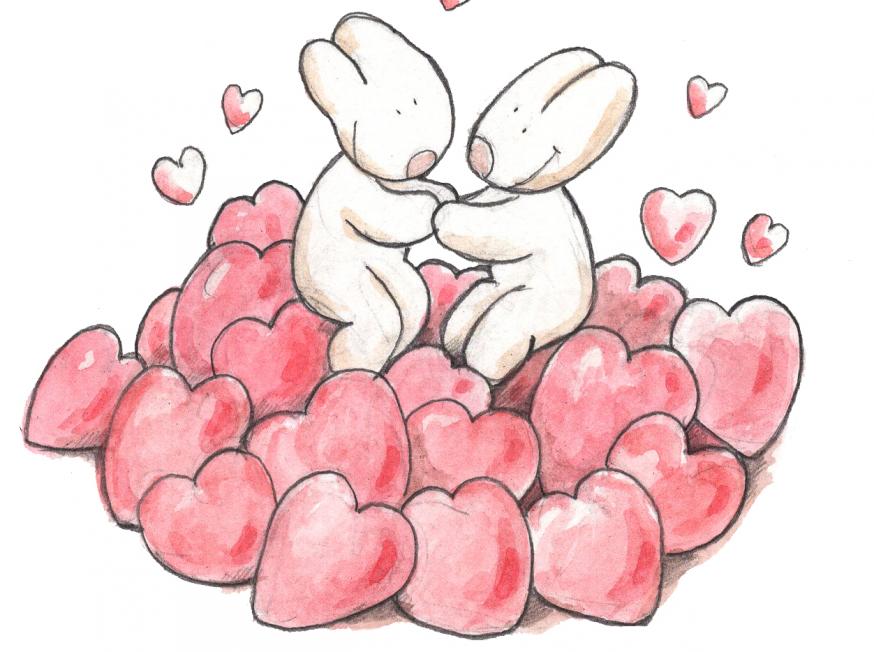 Je bent geliefd © IDGP vzw, cartoon getekend door Joris Snaet