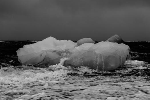 smeltende ijsberg © pexels