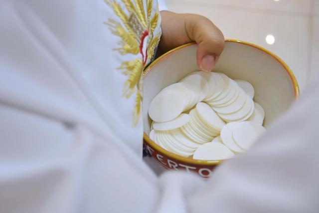 Uitreiking van de communie © Pixabay