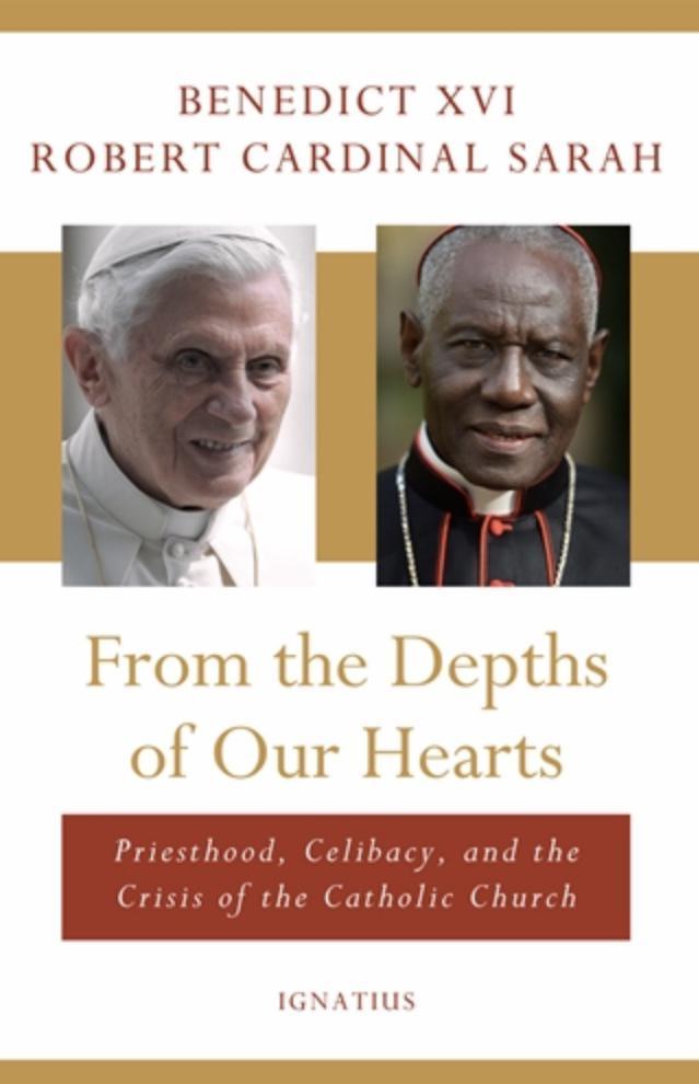 De cover van de Engelstalige versie van het boek van emeritus paus Benedictus XVI en kardinaal Sarah © Ignatius Press