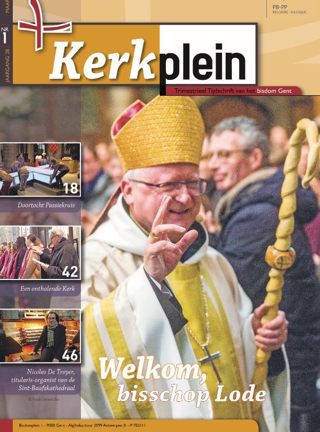 Kerkplein maart 2020 © Bisdom Gent
