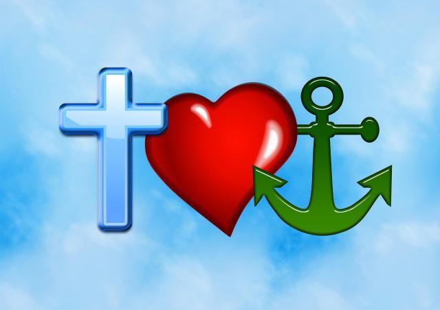 'Geloof, hoop en liefde'. © rr