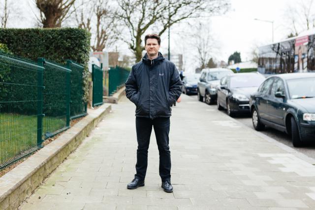 David Labrechts: Na jarenlang zoeken voelde ik in een kerk in Rijsel plotseling: genoeg gezocht, je bent er. © Matthias Hannes