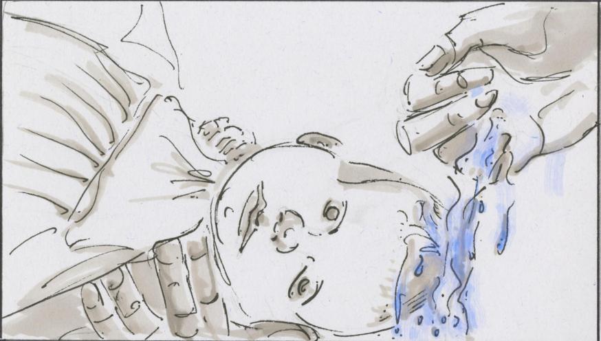 Je doopsel © Bisdom Gent, tekening: Koen Van Loocke