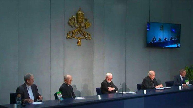 Voorstelling van een nieuw document over ecologie © Vatican Media