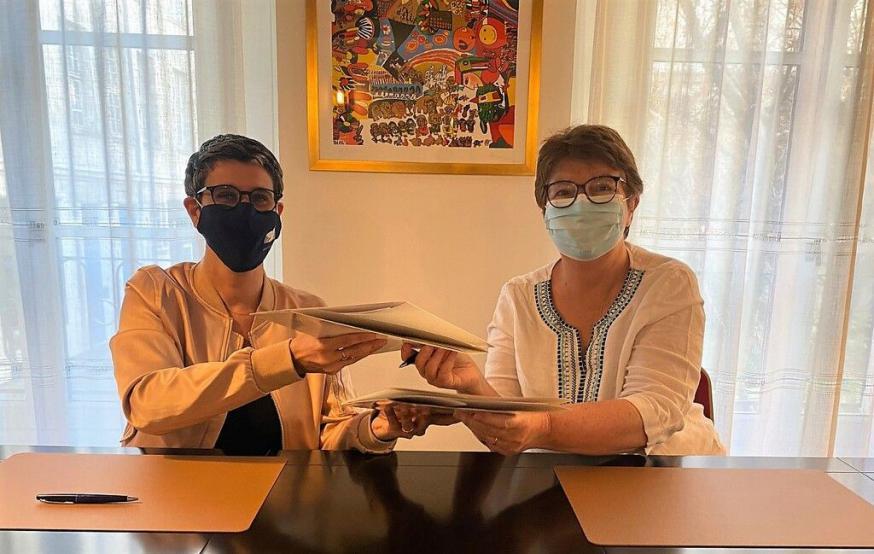Ondertekening van het nieuwe samenwerkingsakkoord © Sint-Egidiusgemeenschap