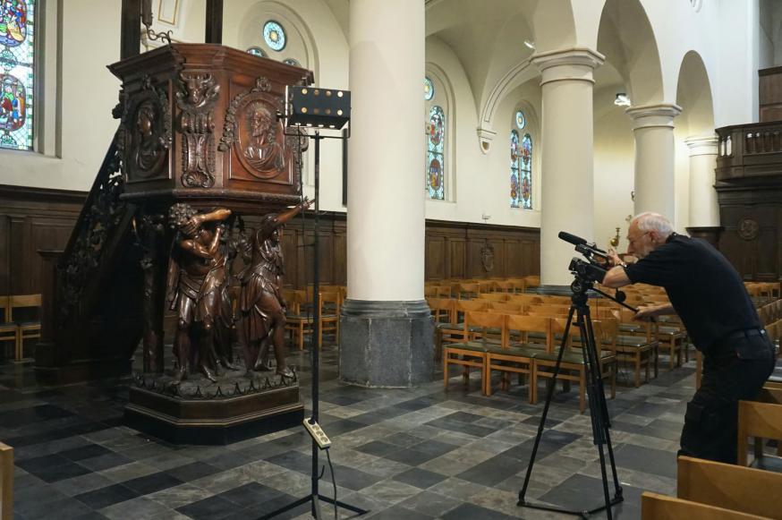Preekstoel in de kerk van Lichtaart © Onze-Lieve-Vrouw Lichtaart