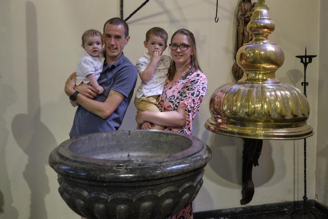 dopeling Loïc © parochie Onze-Lieve-Vrouw Lichtaart