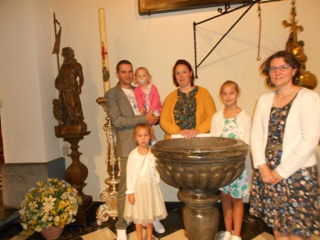 dopeling Lio © parochie Onze-Lieve-Vrouw Lichtaart