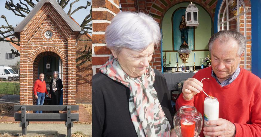 kapel in de Molenstraat © parochie Onze-Lieve-Vrouw Lichtaart