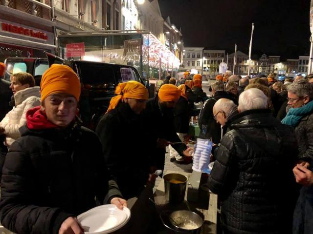 traktatie van de Sikh © Stad Sint-Truiden