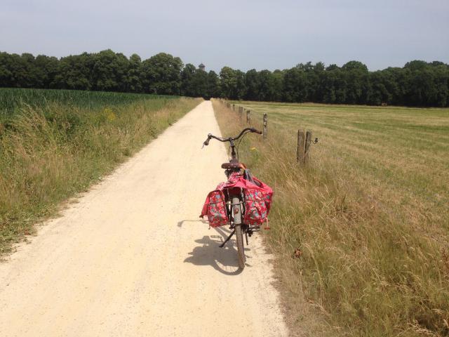 Met een volle fietszak naar huis?