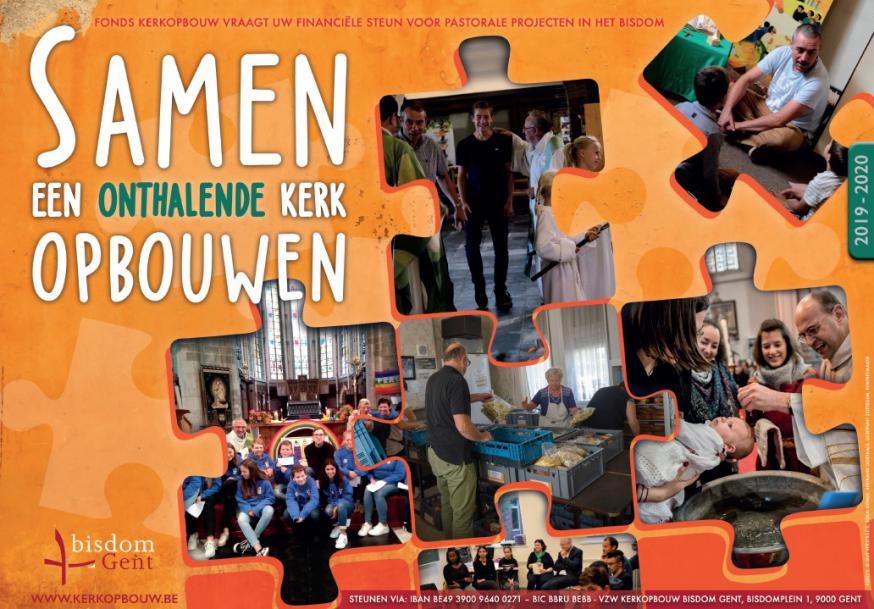 Kerkopbouw 2019-2020 © Bisdom Gent, ontwerp: Nathalie Praet