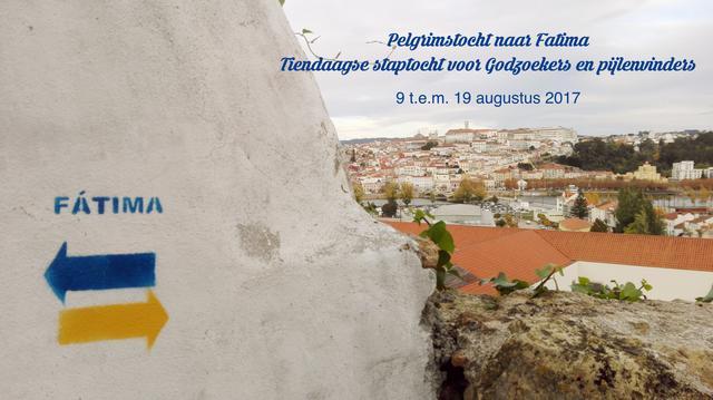 Flyer jongerenpelgrimage Porto-Fatima © IJD