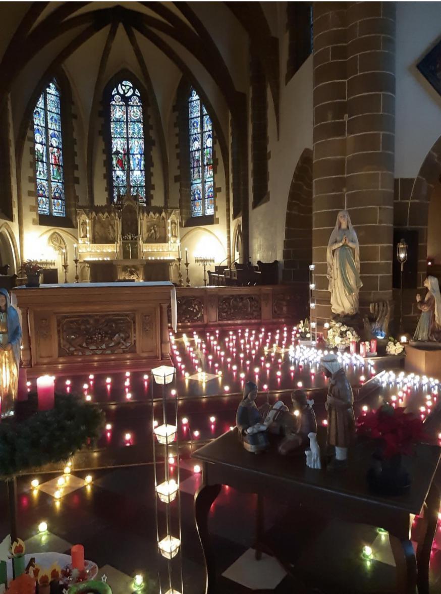 Kerstkerk Westerlo © JDP