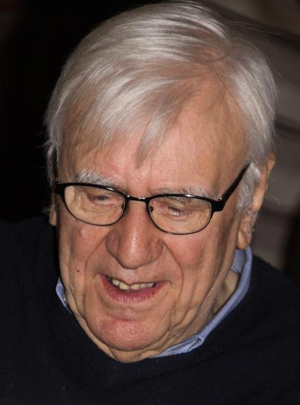Robrecht Michiels, professor emeritus K.U.Leuven - Bron: Mia Verbanck