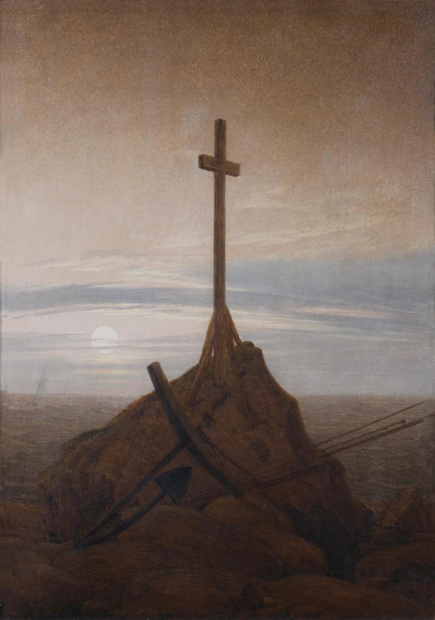 Kreuz an der Ostsee, Schloss Charlottenburg © Friedrich Caspar David 1774-1840