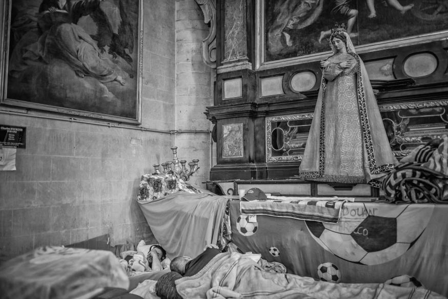 Het interieur van de 17de-eeuwse Begijnhofkerk is typisch voor de Vlaamse barokstijl. © Leo De Bock