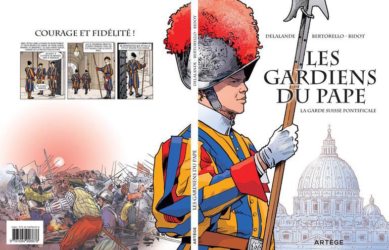 De cover van 'Les Gardiens du pape, la Garde suisse pontificale' © Editions Artège